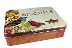 Blik biscuits