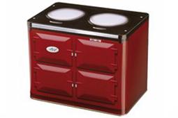 blik kookplaat rood